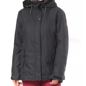 折上8折Roxy 女士黑色滑雪服滑雪夹克