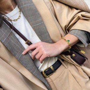 精选7折 经典小红绳€91Monica Vinader 小众高级珠宝品牌 凯特王妃也在戴