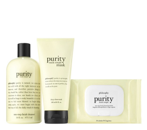$40 (Value $81)philosophy purity made simple trio @ QVC