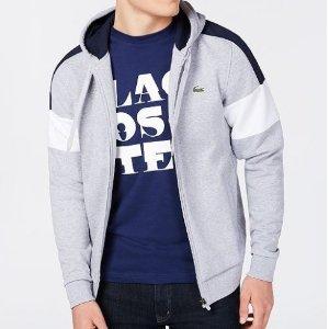 低至5折+额外7折 收经典小鳄鱼macys.com 精选Lacoste 男款Polo衫热卖 $23.93收T恤衫