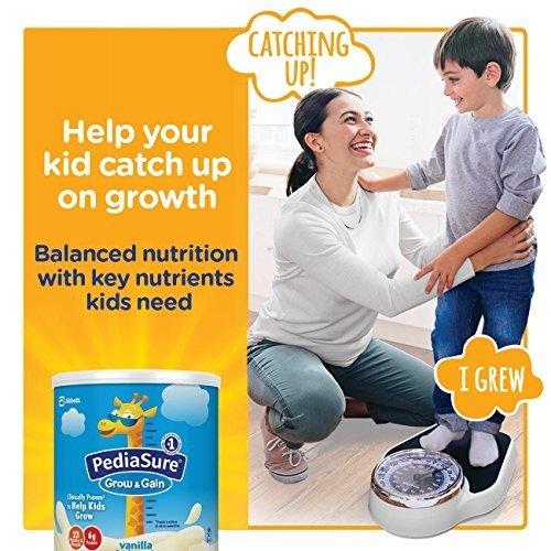 Grow & Gain 雅培小安素助成长香草味营养乳饮 400克/罐, 6 罐