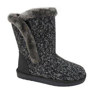 POP编织雪地靴