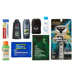 Free after Credit Men's Grooming Sample Box, 8 or more items ($9.99 credit with purchase)