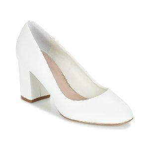 Andre白色高跟鞋