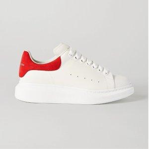 Alexander McQueen定价优势!官网$780红尾小白鞋