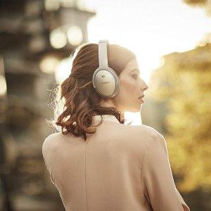 现价 £289(原价£329.95)Bose QuietComfort 35 II 无线主动降噪耳机特卖