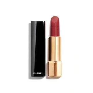 Chanel爆款 丝绒红棕色 ROUGE ALLURE VELVET