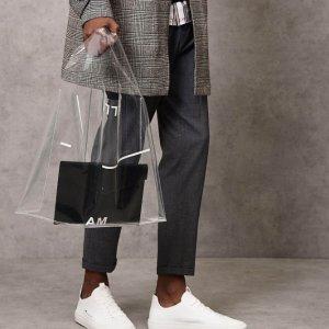 $39+免邮 时髦精必备PEDRO Shoes精选PVC托特包独家特价
