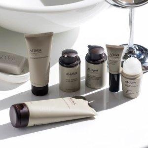 无门槛6折独家:AHAVA 全场护肤护理热卖  收超值护肤套装