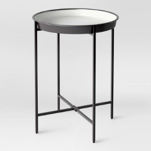 Pradet Tray Accent Table Black/White - Project 62™ : Target