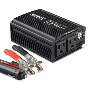 $25.89(原价$39.99)SUAOKI 双USB端口车充 车载变压器