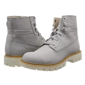 CAT 灰色女士工装短靴 5折特价 收复古又实用的好靴