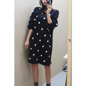 Round Dot Dress