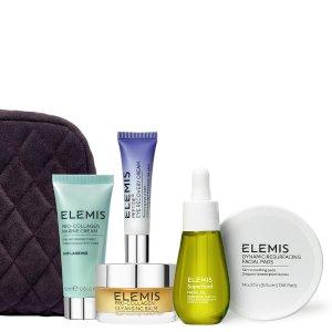 限时69折+送彩虹护肤套装Elemis 艾丽美 Star Performers 销量榜单套装5件套+化妆包