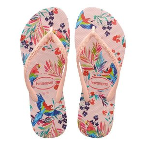 Havaianas女童印花人字拖鞋
