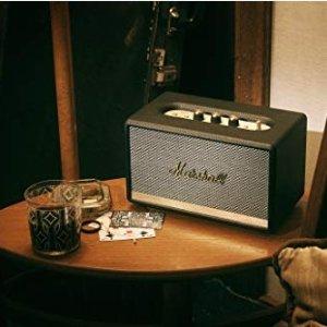 低至5折,£99收Action 音箱Marshall 精选时尚复古蓝牙音箱 热卖