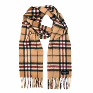 Gretna Greenget 27% Off with 2 Items PurchasesCashmere Scarf in Camel Thomson Tartan