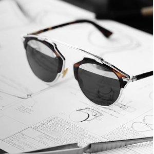 $99.99 收拼色反光镜Dior 墨镜热卖 经典飞行员墨镜DiorSplit多款配色低价收