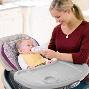 $112.11 + 送Walmart $30礼卡Graco blossom 六合一婴幼儿高脚餐椅