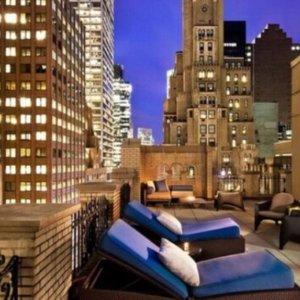 每晚$99起 绝佳天台夜景Groupon官网  纽约时尚型酒店The Maxwell限时特卖