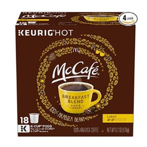 $26.60(原价$34.99)低至$0.36/颗McCafe 精选烘焙胶囊咖啡 72颗