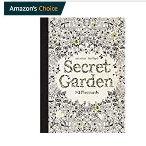 £2.46起!£5收秘密花园Secret Garden秘密花园填色本 宅家期间减压必备