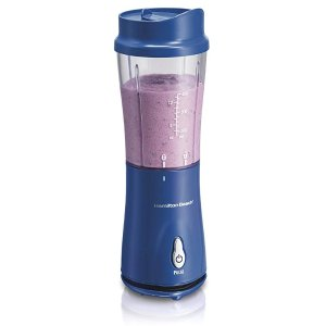 $14.54Hamilton Beach Personal Smoothie Blender with 14 oz Travel Cup and Lid