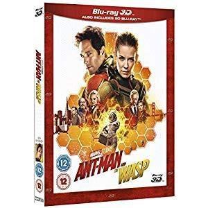 2 for £18 Marvel 3D Region Free Blu-ray Movies