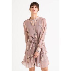 Petite StudioLoretta Dress - Blush Floral
