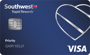 Earn 40,000 pointsSouthwest Rapid Rewards® Priority Credit Card