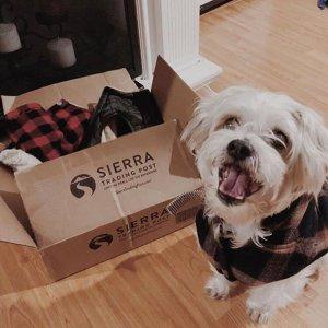 无门槛免运费限今天:Sierra 全场家居、宠物用品$1起