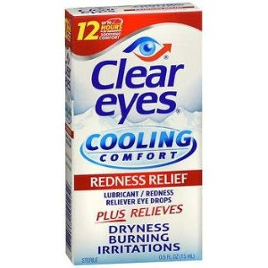 Clear Eyes Cooling Comfort Redness Relief Eye Drops