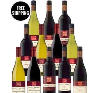 $84 (原价$210)eBay官网 精选Grant Burge12瓶装酒热卖