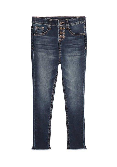 女童牛仔裤