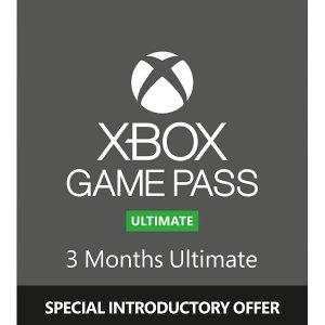 46折!3个月 Pass 仅£14.99XBOX Game Pass Ultimate 超级无敌好折扣 畅享游戏海洋