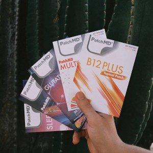 7.5折+免邮独家:PatchMD 全场促销 贴片补剂更方便