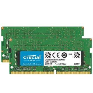 $96.99Crucial 32GB (16GB x 2) DDR4 2400 C17 笔记本内存