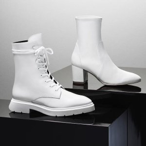 低至3折 系带马丁靴$179上新:Stuart Weitzman Outlet 美鞋大促 精选通勤鞋限时$99