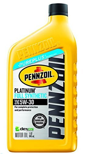 $2.28(原价$4.8)Pennzoil Ultra Platinum 5W-30 全合成机油 1夸脱