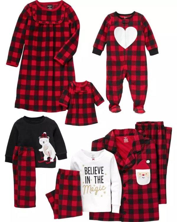 全家配套居家服,以婴儿码为例