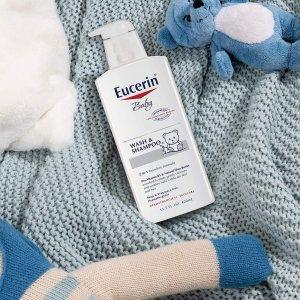 Eucerin 宝宝洗发沐浴乳400ml 3瓶