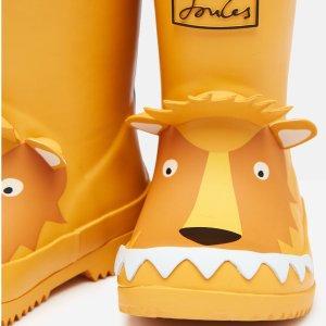 $9.95起+包邮 新品7.5折最后一天:Joules高品质童装官网 儿童凉鞋、雨靴独家热卖