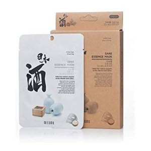Amazon.com: MITOMO Uruuru Face Sheet Mask High Quality. Made in Japan. Pack of 4 (25g x 4) (Sake): Health & Personal Care