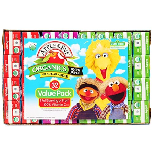 $7.92Apple & Eve Sesame Street Organics Juice Box (32 Count) Variety Pack