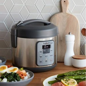 Instant Zest Rice and Grain Cooker - 8 cup rice cooker