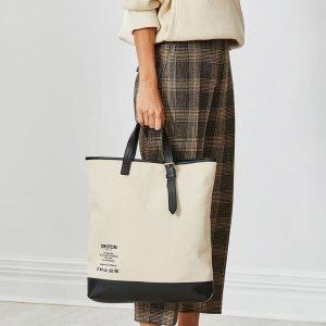 oroton白色手提包