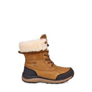 UGG抵御零下32度低温!防水防滑毛毛靴