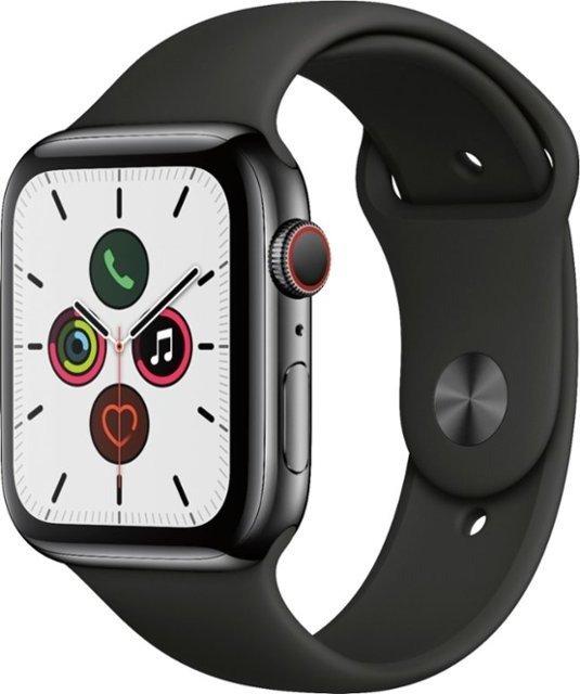 Apple Watch Series 5 不锈钢 (GPS + Cellular) 44mm
