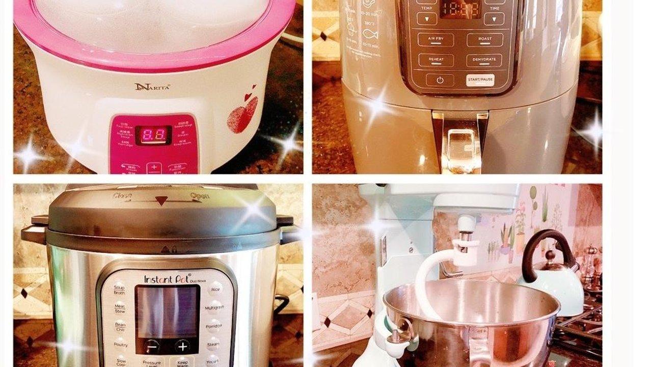 囤下这些厨房小家电, 和厨房小白说拜拜!