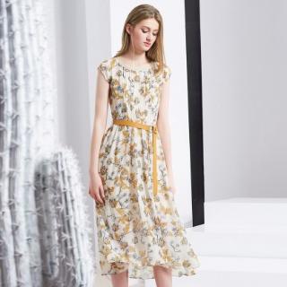 低至1.3折起 收浪漫气质连衣裙雪歌专柜女装限时热卖 专柜同款